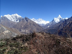 Ama Dablam View of EBC Trek
