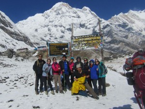 Group Trek Annapurna Base Camp
