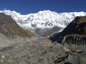 Annapurna I view from ABC