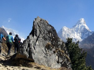 Trek in the Everest region