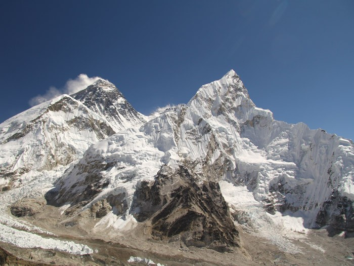 Mt. Everest (8,848m/29,028ft)